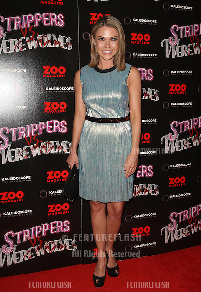 Adele Silva arriving at the 'Strippers vs Werewolves' premiere held at the Apollo cinema - Arrivals.London. 24/04/2012 Picture by: Henry Harris / Featureflash