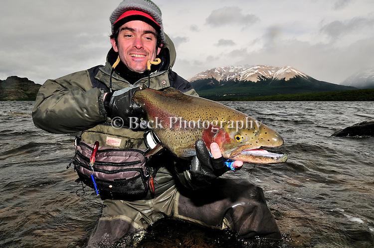 Tres Valles, Argentina, rainbow trout