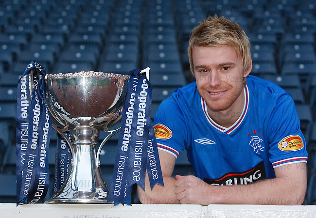 Stevie Smith at Hampden to preview the Rangers v St Johnstone co-operative cup semi final