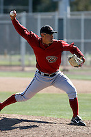 Jeff Dietz - Arizona Diamondbacks - 2009 spring training.Photo by:  Bill Mitchell/Four Seam Images