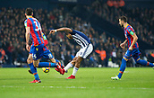 2nd December 2017, The Hawthorns, West Bromwich, England; EPL Premier League football, West Bromwich Albion versus Crystal Palace; Jose Salomon Rondon of West Bromwich Albion taking a shot at the Crystal Palace goal