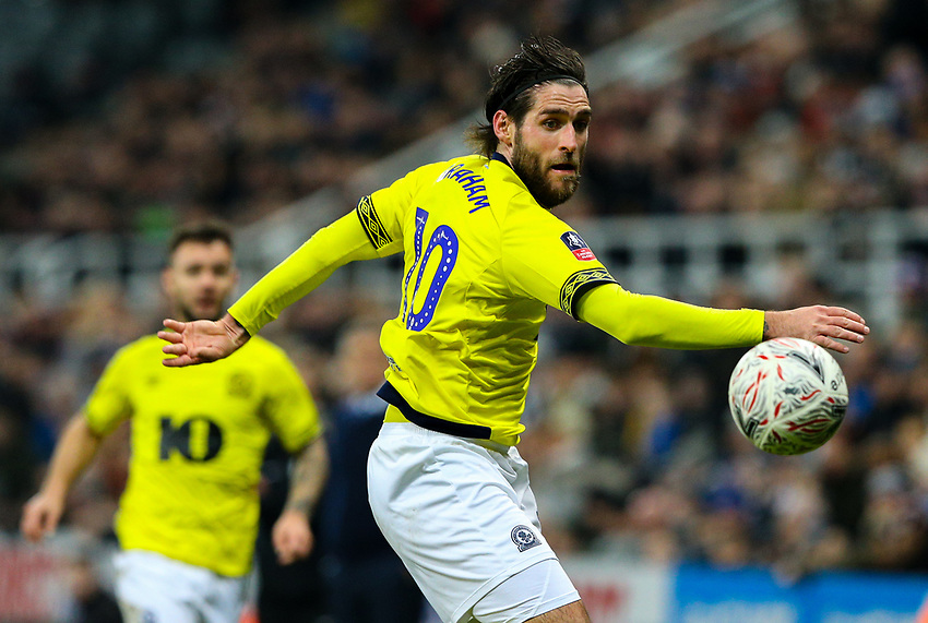 Blackburn Rovers' Danny Graham<br /> <br /> Photographer Alex Dodd/CameraSport<br /> <br /> Emirates FA Cup Third Round - Newcastle United v Blackburn Rovers - Saturday 5th January 2019 - St James' Park - Newcastle<br />  <br /> World Copyright © 2019 CameraSport. All rights reserved. 43 Linden Ave. Countesthorpe. Leicester. England. LE8 5PG - Tel: +44 (0) 116 277 4147 - admin@camerasport.com - www.camerasport.com