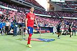 Atletico de Madrid's Fernando Torres for the first time at Wanda Metropolitano during La Liga match between Atletico de Madrid and Malaga CF at Wanda Metropolitano in Madrid, Spain September 16, 2017. (ALTERPHOTOS/Borja B.Hojas)