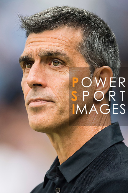 Manager Juan Ramon Lopez Muniz of Levante UD looks prior the La Liga match between Real Madrid and Levante UD at the Estadio Santiago Bernabeu on 09 September 2017 in Madrid, Spain. Photo by Diego Gonzalez / Power Sport Images