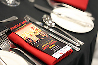 Pictured: Kings of Leon themed hospitality and dining. Wednesday 02 July 2014<br /> Re: Kings of Leon at the Liberty Stadium, Swansea, south Wales.