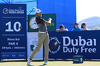 Simon Thornton (IRL) on the 10th tee during Round 2 of the Dubai Duty Free Irish Open at Ballyliffin Golf Club, Donegal on Friday 6th July 2018.<br /> Picture:  Thos Caffrey / Golffile