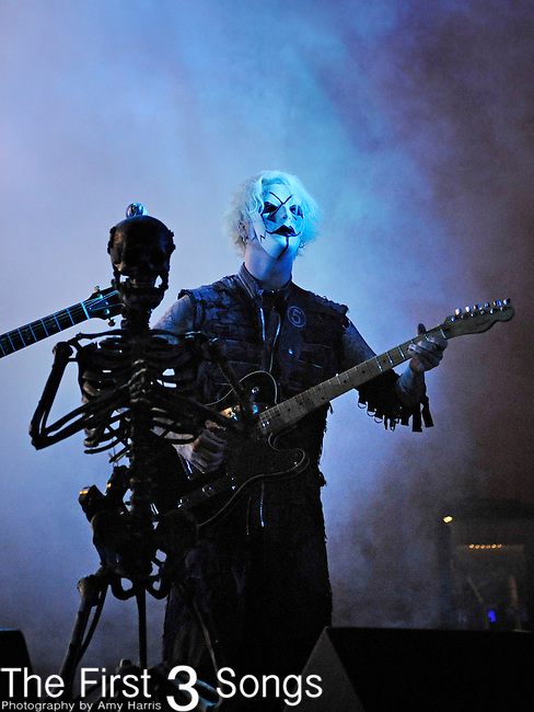 John 5 (John Lowery) of Rob Zombie performs during day one of the 2011 Rock Fest on July 14, 2011 in Cadott, Wisconsin.