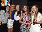 Georgia McCann celebrating her 18th birthday in Brú with friends Chloe Duff, Amy McTeggart, Mairead Lynch and Orla Lynch. Photo:Colin Bell/pressphotos.ie