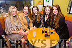Getting ready to ring in the New Year in Waterville were l-r; Alanna O'Shea, Gemma Musgrave, Iseult Ring, Kerri Dowling & Saidhbh O'Sullivan.