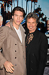 "HOLLYWOOD, CA - MARCH 22: Martin Kove and son Jesse Kove attend HBO's ""His Way"" Los Angeles Premiere at Paramount Theater on the Paramount Studios lot on March 22, 2011 in Hollywood, California."