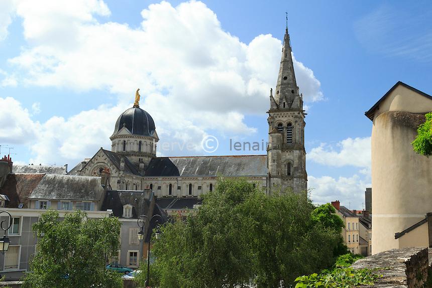 France, Indre (36), Châteauroux, l'église Notre-Dame // France, Indre, Chateauroux, Church Notre Dame
