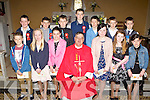 Castledrum NS pupils who were confirmed in St Gobnait's church Keel on Thursday by Canon Michael Fleming front row l-r: Gary Murphy, Caoimhe Evans, Laura Moriarty, Molly Donoghue, Caragh Clifford and Clodagh Murphy. Back row: Liam Clifford, Cillian Murphy, Darragh O'Dowd, Sean Langford, Colin Foley, Sean Corcoran, Patrick Corcoran...