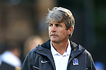 27 September 2016: Duke head coach John Kerr. The Duke University Blue Devils hosted the Georgia State University Panthers at Koskinen Stadium in Durham, North Carolina in a 2016 NCAA Division I Men's Soccer match. Georgia State won the game 2-1 in two overtimes.