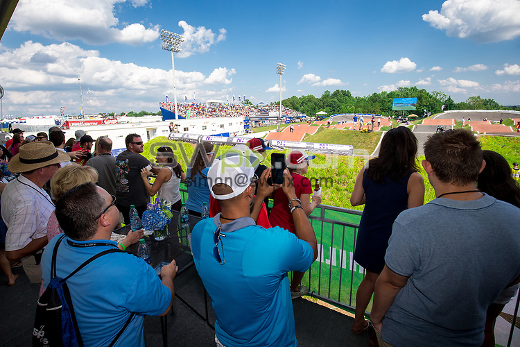 Picture by Alex Whitehead/SWpix.com - 29/07/2017 - Cycling - 2017 UCI BMX World Championships - Novant Health BMX Supercross Track, Rock Hill, USA - Brief. VIP, hospitality.