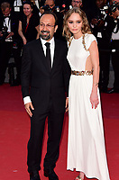 www.acepixs.com<br /> <br /> May 17 2017, Cannes<br /> <br />  Director Asghar Farhadi and Lily-Rose Depp arriving at the 'Ismael's Ghosts (Les Fantomes d'Ismael)' screening and Opening Gala during the 70th annual Cannes Film Festival at Palais des Festivals on May 17, 2017 in Cannes, France. <br /> <br /> By Line: Famous/ACE Pictures<br /> <br /> <br /> ACE Pictures Inc<br /> Tel: 6467670430<br /> Email: info@acepixs.com<br /> www.acepixs.com