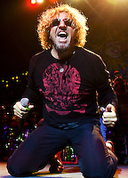 Sammy Hagar performs at the Pageant in St. Louis, Mo., on November 18, 2008.