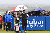 Shane Lowry (IRL) waits on the 18th tee during Saturday's Round 3 of the Dubai Duty Free Irish Open 2019, held at Lahinch Golf Club, Lahinch, Ireland. 6th July 2019.<br /> Picture: Eoin Clarke | Golffile<br /> <br /> <br /> All photos usage must carry mandatory copyright credit (© Golffile | Eoin Clarke)