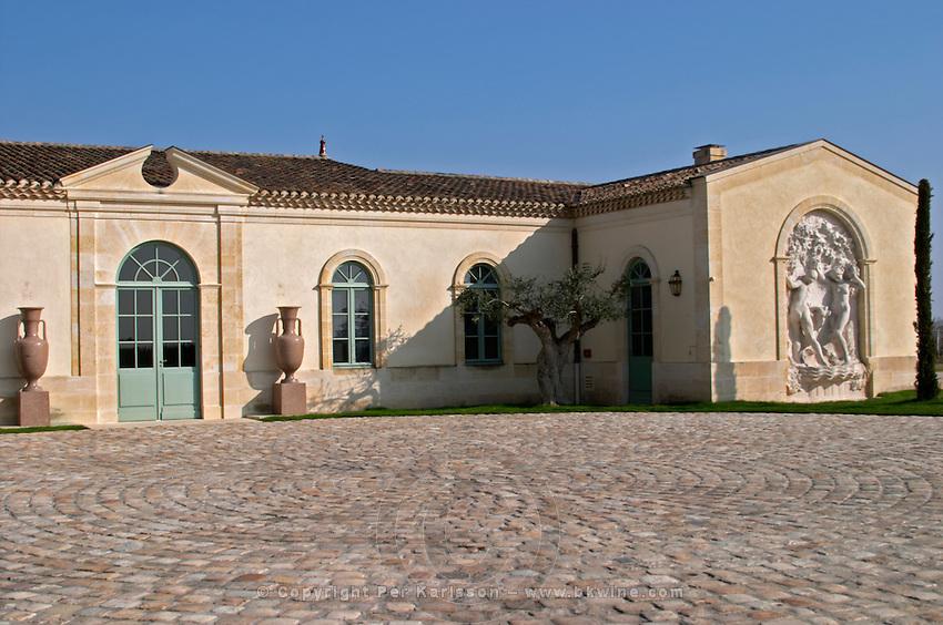 Winery building. Chateau Petrus, Pomerol, Bordeaux, France