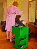 ENGLAND, Brighton,  Haircutting Salon in Kemptown