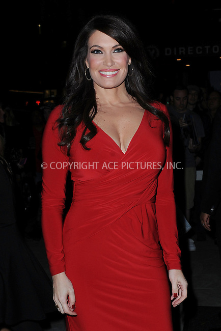 WWW.ACEPIXS.COM<br /> October 14, 2014 New York City<br /> <br /> Kimberly Guilfoyle attending the 'Fury' New York Premiere at DGA Theater on October 14, 2014 in New York City.<br /> <br /> By Line: Kristin Callahan/ACE Pictures<br /> ACE Pictures, Inc.<br /> tel: 646 769 0430<br /> Email: info@acepixs.com<br /> www.acepixs.com