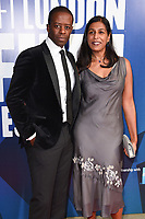 Adrian Lester &amp; Lolita Chakrabarti at the 2017 BFI London Film Festival Awards at Banqueting House, London, UK. <br /> 14 October  2017<br /> Picture: Steve Vas/Featureflash/SilverHub 0208 004 5359 sales@silverhubmedia.com