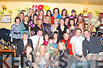 Trish Roche from Abbeyfeale seated fourth from right celebrated her 40th birth with family and friends in Donal and Ann's bar Abbeyfeale on Friday night.. Copyright Kerry's Eye 2008
