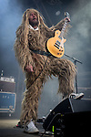 """© Joel Goodman - 07973 332324 . 04/07/2015 . Manchester , UK . Super Furry Animals perform at the Castlefield Bowl as part of the """" Summer in the City """" festival in Manchester. Photo credit : Joel Goodman"""