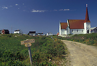 church, fishing village, Peggy's Cove, Nova Scotia, NS, Canada, Atlantic Ocean, Church in the fishing village of Peggy's Cove in Nova Scotia.