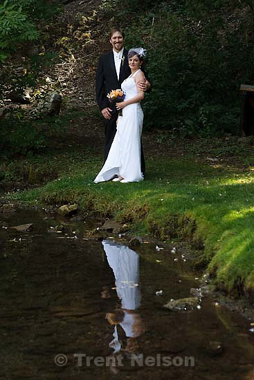 Peter Hansen and Kendra wedding at Log Haven, Millcreek Canyon, September 17, 2008