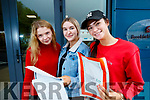 Students from Brookfield College, Tralee, who received their Leaving Certificate results on Wednesday morning last, were l-r: Zoe O'Connor, (Ballyfinnane), Una Fitzgerald (Castleisland) and Katelynn McCarthy (Spa, Tralee)