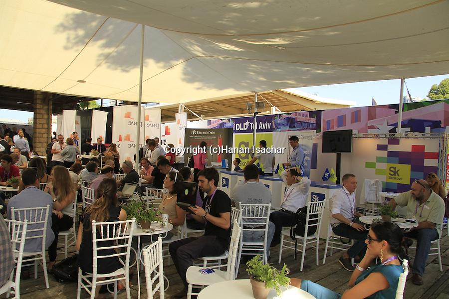 DLD Tel Aviv, Israel's largest international Hi-Tech gathering features hundreds of start ups, VC's, angel investors and leading international companies