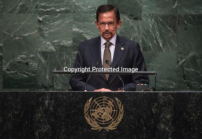 Address by His Majesty Sultan Hassanal Bolkiah Mu'izzaddin Waddaulah, Sultan and Yang Di Pertuan of Negara Brunei Darussalam