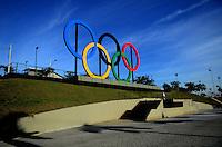 RIO DE JANEIRO, RJ, 23.05.2015 - ARCOS-OLIMPÍCOS - Vista dos Arcos Olimpicos no Parque do Madureira na região norte da cidade do Rio de Janeiro neste sabado, 23. (Foto: Jorge Hely / Brazil Photo Press)