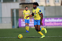 Chid Onokwai of Haringey during Haringey Borough vs Herne Bay, Emirates FA Cup Football at Coles Park Stadium on 7th September 2019
