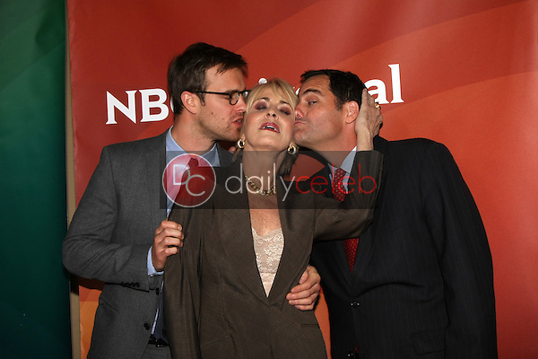 Sean Kleier, Joanna Cassidy, Andy Buckley<br />
