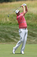Bethesda, MD - July 2, 2017: Marc Leishman shot from the seventh fairway during final round of professional play at the Quicken Loans National Tournament at TPC Potomac  in Bethesda, MD, July 2, 2017.  (Photo by Elliott Brown/Media Images International)