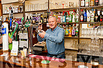 Georgie Browne pulling a pint at J.M. Fitzgerald's Bar, Abbeyfeale which is nominated for Traditional Pub of the Year