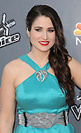 Audra McLaughlin arriving at the 'The Voice Top 12 Artist of Season 6 Red Carpet Event' held at Universal Citywalk Los Angeles, CA. April 15, 2014.