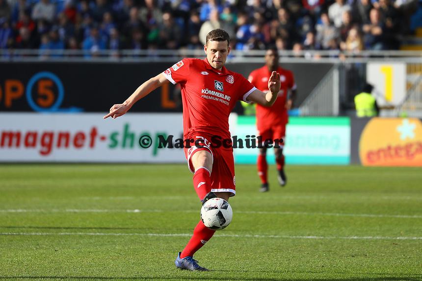 Fabian Frei (1. FSV Mainz 05)- 11.03.2017: SV Darmstadt 98 vs. 1. FSV Mainz 05, Johnny Heimes Stadion am Boellenfalltor