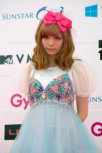 Kyary Pamyu Pamyu, June 14, 2014 : MTV VMAJ (Video Music Awards Japan 2014 at Maihama Amphitheater in Chiba, Japan. (Photo by Rodrigo Reyes Marin/AFLO)
