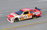 May 2, 2008; Richmond, VA, USA; NASCAR Sprint Cup Series driver Regan Smith during practice for the Dan Lowry 400 at the Richmond International Raceway. Mandatory Credit: Mark J. Rebilas-US PRESSWIRE