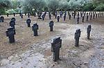 German war cemetery, Cuacos de Yuste, La Vera, Extremadura, Spain