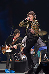 Mick Jagger of the Rolling Stones performs in concert at the MGM Grand Garden Arena on Saturday, May 11, 2013 in Las Vegas. (Photo by Al Powers/Powers Imagery/Invision/AP)