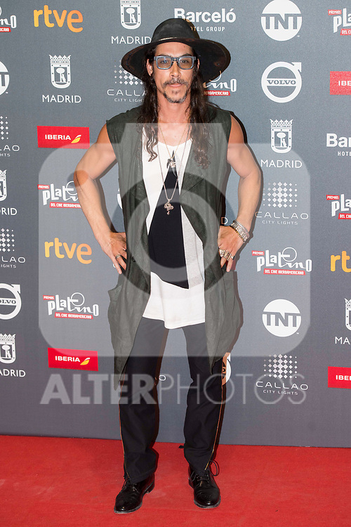 Oscar Jaenada attends to welcome party photocall of Platino Awards 2017 at Callao Cinemas in Madrid, July 20, 2017. Spain.<br /> (ALTERPHOTOS/BorjaB.Hojas)