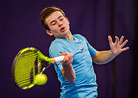 tHilversum, Netherlands, December 2, 2018, Winter Youth Circuit Masters, Daniel Verbeek (NED)<br /> Photo: Tennisimages/Henk Koster