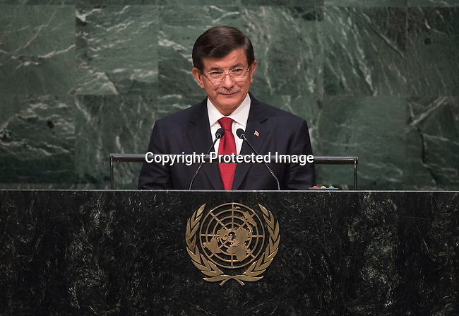 Continuation of the general debate [item 8] <br /> Statement by His Excellency Ahmet Davutoğlu, Prime Minister of the Republic of Turkey Statement