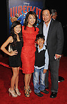 HOLLYWOOD, CA - OCTOBER 29: Ming-Na, Eric Michael Zee and children arrive at the Los Angeles premiere of 'Wreck-It Ralph' at the El Capitan Theatre on October 29, 2012 in Hollywood, California.