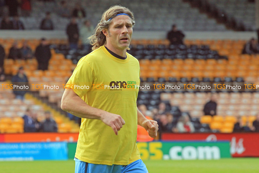 Wycombe Caretaker Manager, Gareth Ainsworth - Port Vale vs Wycombe Wanderers - NPower League Two Football at Vale Park - 20/10/12 - MANDATORY CREDIT: Paul Dennis/TGSPHOTO - Self billing applies where appropriate - 0845 094 6026 - contact@tgsphoto.co.uk - NO UNPAID USE.