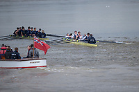 London. United Kingdom, 2017. Oxford University, Annual Trial Eights, raced over the Championship Course, Putney to Mortlake. River Thames, <br /> <br /> Wednesday  06/12/2017<br /> <br /> [Mandatory Credit:Peter SPURRIER Intersport Images]<br /> <br /> OUBC Crew Names. <br /> STABLE White Shirts <br /> Bow. Jonathan Olandi<br /> 2. Charles Buchanan<br /> 3. Will Cahill<br /> 4. Alexander Wythe<br /> 5. William Geffen<br /> 6. Anders Weiss<br /> 7. Iain Mandale<br /> Stroke. Vassilis Ragoussis<br /> Cox. Zachary Thomas Johnson<br /> <br /> STRONG<br /> Bow. Luke Robinson<br /> 2. Angus Forbes<br /> 3. Nicholas Elkington<br /> 4. Benedict Aldous<br /> 5. Tobias Schroder<br /> 6. Joshua Bugajski<br /> 7. Claas Mertens<br /> Stroke. Felix Drinkall<br /> Cox. Anna Carbery