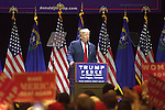 Republican presidential nominee Donald Trump holds  rally at The Venetian Las Vegas October 30, 2016 in Las Vegas, Nevada. Republican presidential nominee Donald Trump holds rally at The Venetian Las Vegas October 30, 2016 in Las Vegas, Nevada. Ingraid Mueller is brought on stage by Mr Trump